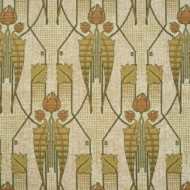 High Quality Arts & Crafts and Art Nouveau-inspired Upholstery Fabrics